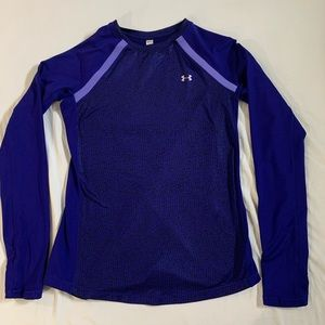 Under Armour blue top